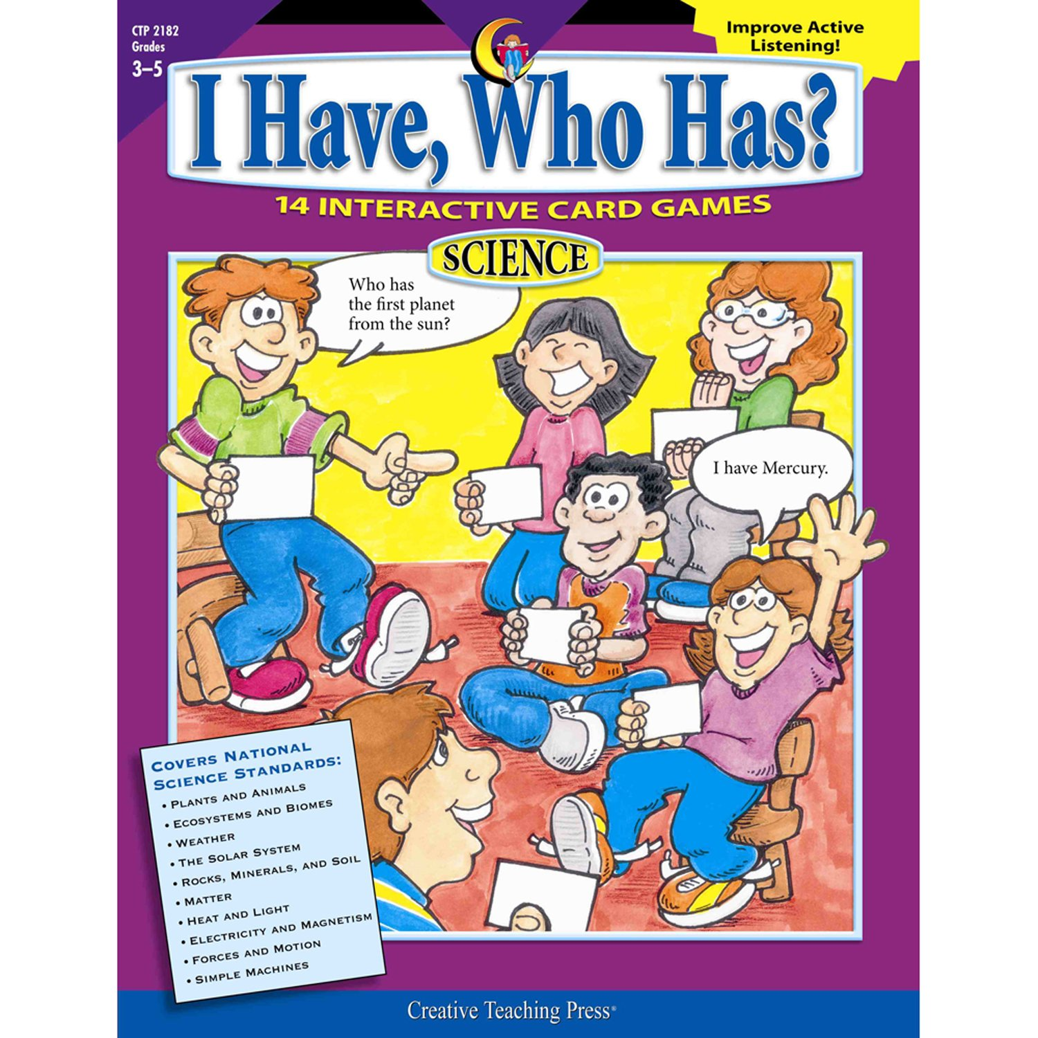 I Have, Who Has? Science, Gr. 3 - 5 ePub fb2 book