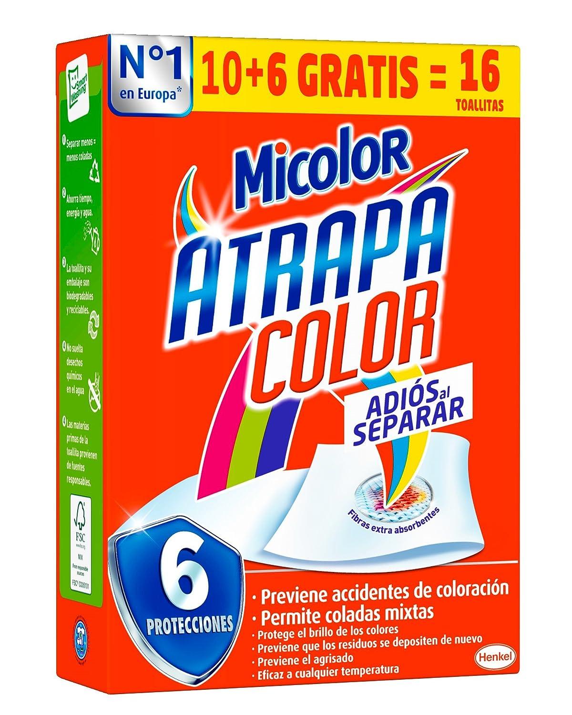 Micolor Toallitas Blanco Intenso - Pack de 4, Total: 64 Toallitas ...