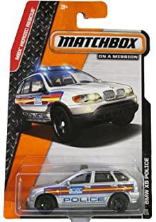 2014 Matchbox MBX Heroic Rescue - BMW X5 Police SUV 90/120