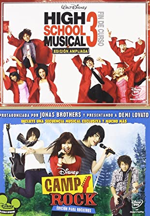 High School Musical 3: Fin de curso (HSM3) + Camp Rock [DVD
