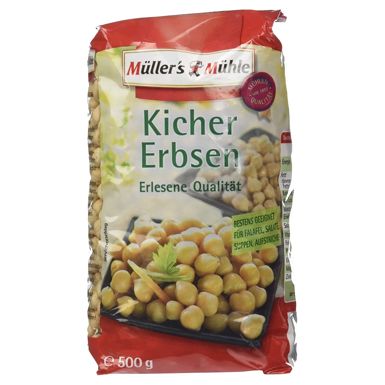 Müller´s Mühle Kichererbsen, 500 g: Amazon.de: Lebensmittel & Getränke