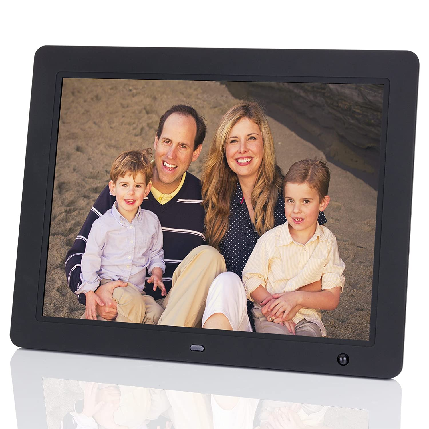 Outstanding Nix 15 Inch Hi Res Digital Photo Frame Frieze - Framed ...