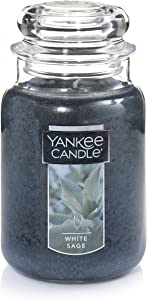 Yankee Candle Large Jar Candle, White Sage