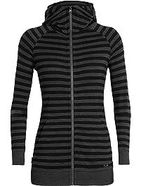 009a42ad8cd03 Icebreaker Merino Crush Long Sleeve Zip Hood