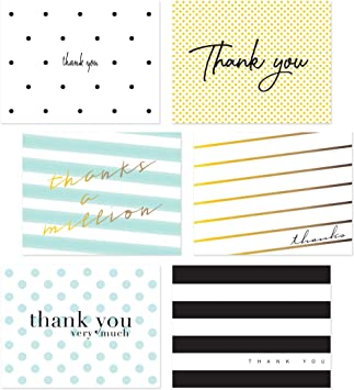 Congratulations Folded Note Cards and Envelopes Set of 8 Silver and White Polka Dot Design