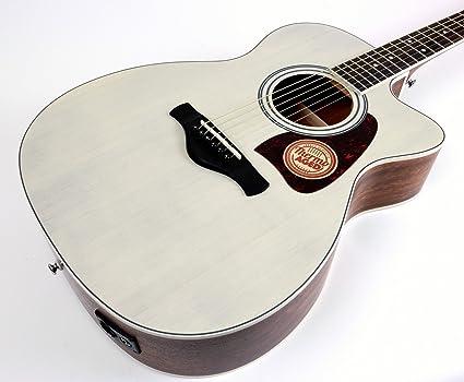 Ibanez Artwood serie ac320ceabl Solid Top Grand guitarra ...