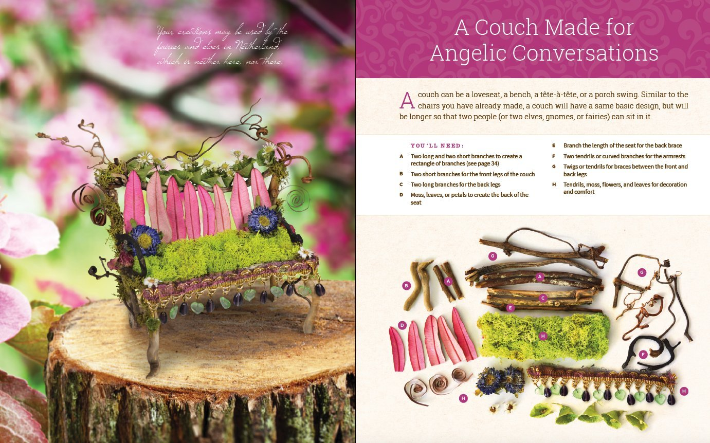 Uncategorized Create Fairy fairy house how to make amazing furniture miniatures and more from natural materials debbie schramer mike 97