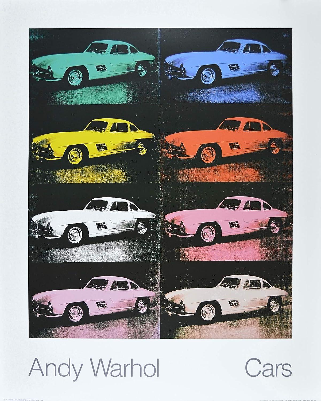 Germanposters Andy Warhol Cars 300 SL Coupe Bj 1954 Poster Kunstdruck - 90 x 70 cm