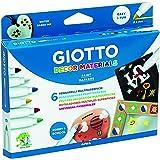 Giotto - Pochette de 6 feutres décoration multisupports Decor Materials, 3 ans +