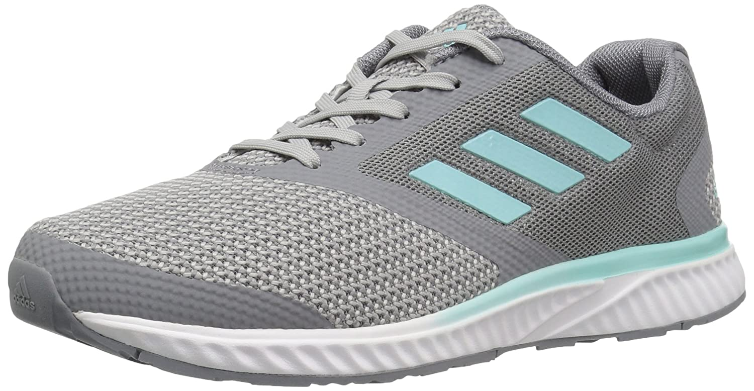 adidas Women's Edge Rc W Running Shoe B01MSQI1W5 12 B(M) US|Grey Two/Metallic Silver/Energy Aqua