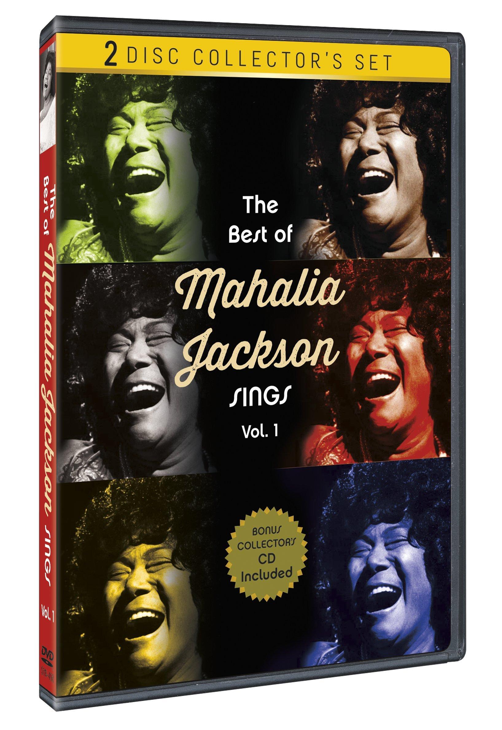 Michael Burns - The Best of Mahalia Jackson Sings: Volume 1 (With CD, Black & White)