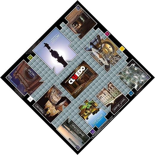 Winning Moves Cluedo Barcelona (82233), multicolor (ELEVEN FORCE: Amazon.es: Juguetes y juegos