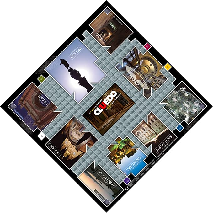 Winning Moves Cluedo Barcelona (82233), multicolor (ELEVEN FORCE: Amazon.es: Juguetes y juegos