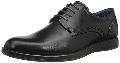 Ecco Exceed, Chaussures Multisport Outdoor Homme, Noir (Black), 46 EU