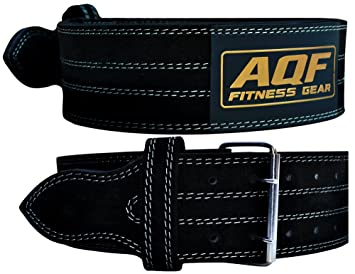 Aqf weight lifting nubuck leather power belt back support strap aqf weight lifting nubuck leather power belt back support strap gym training dip small fandeluxe Image collections