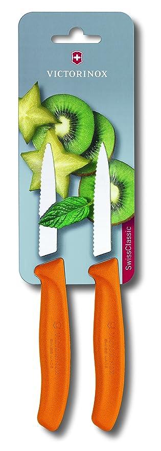 15 opinioni per Victorinox 8cm a punta/coltello spelucchino lama seghettata, confezione blister