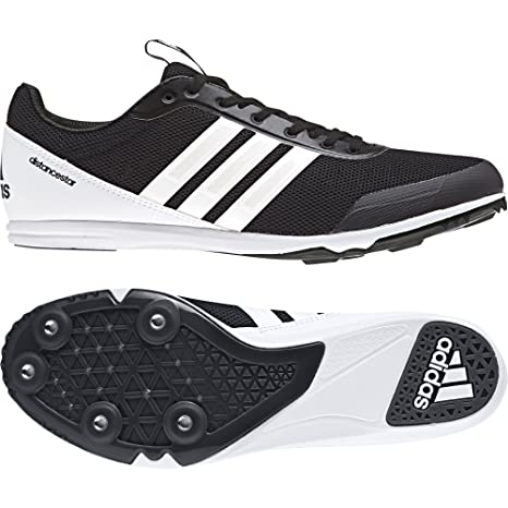 adidas Distancestar W Scarpe da Atletica Leggera Donna Nero