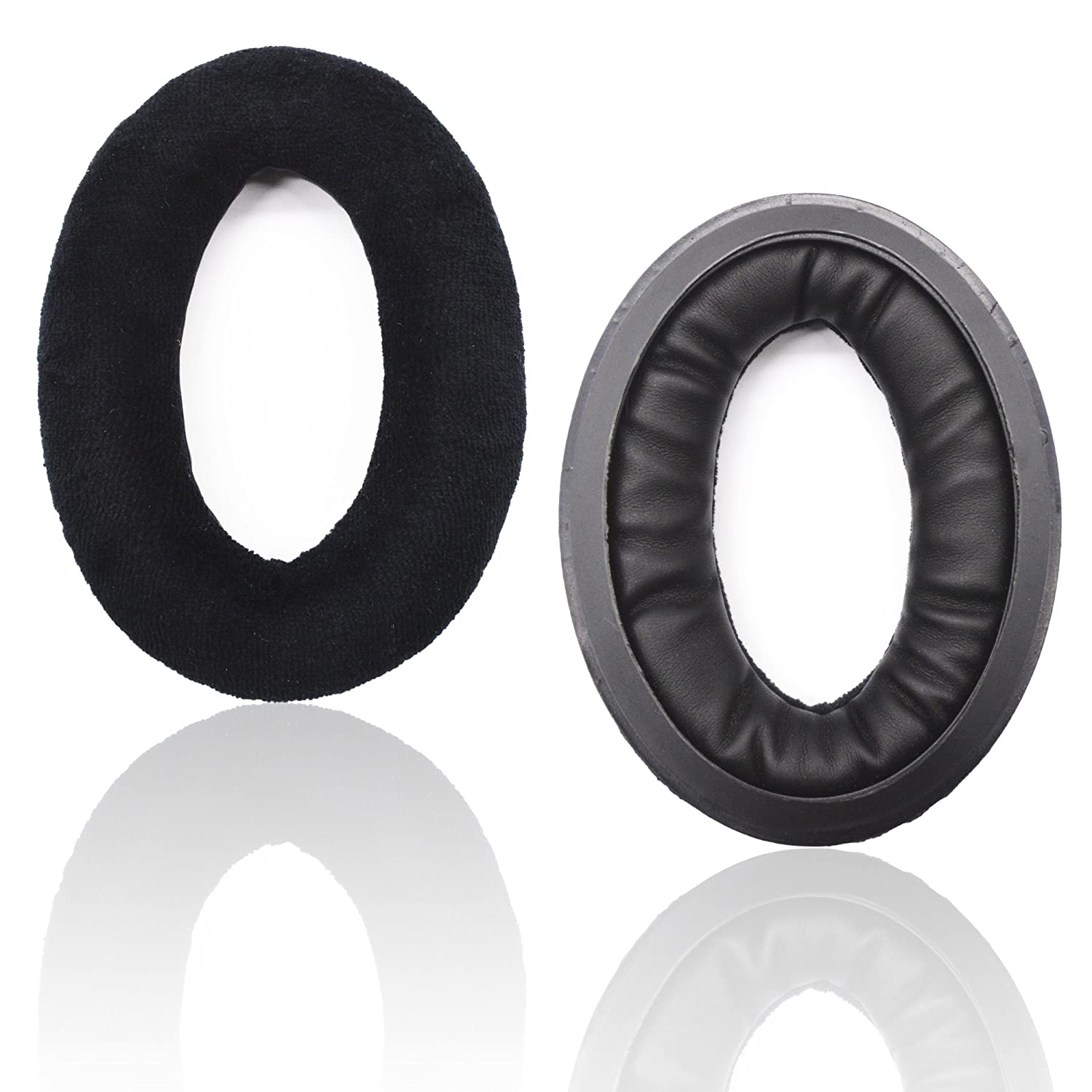 883c13d4ac9 Amazon.com: Replacement Ear Pads for Sennheiser HD515 HD518s HD555 HD569  HD559 HD595 HD598 HD599 HD558 PC360,Headphones Earpads Cushion with Velour  Black: ...