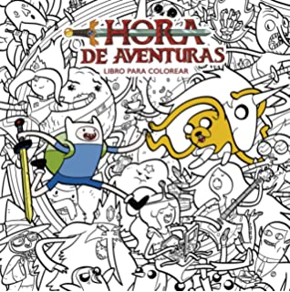 Adventure Time Hora De Aventura Libro Para Colorear