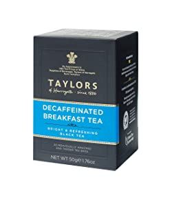 Taylors of Harrogate Decaffeinated Breakfast, 20 Count (Pack of 6)