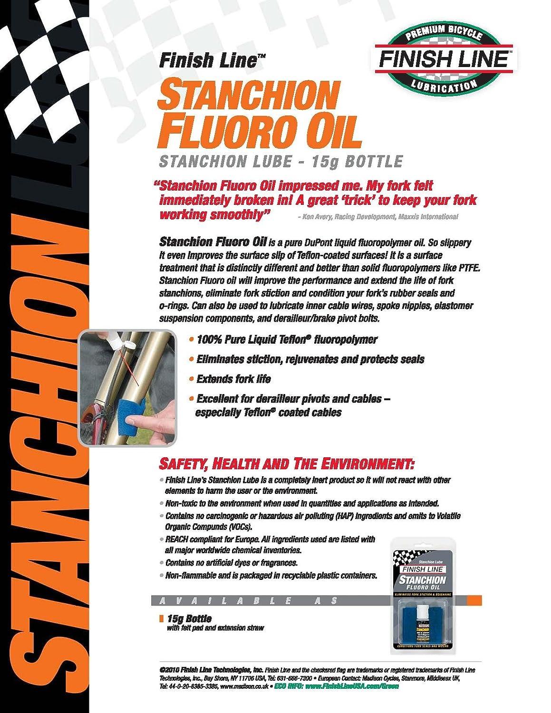Finish Line Free Shipping Trick >> Amazon Com Finish Line Stanchion Lube Pure Fluoro Oil 15gr