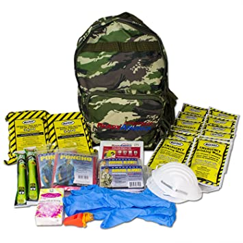 Amazon.com: Ready America 70280 Kit de emergencia, 2 pers ...