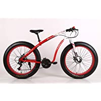WILD WOLF BICYCLES Model: Cobra - Solid Rock Fat Tyre (Red_26 Inch)