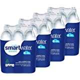 Glaceau Smartwater Vapor Distilled Water 33.8 Ounce, 4Units (Pack of 6)