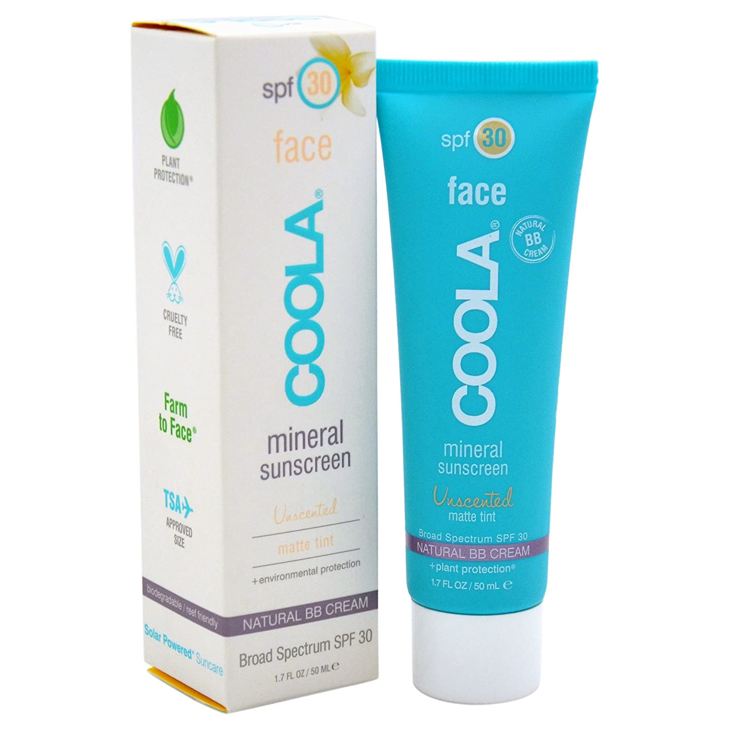Mineral Face Matte Tint Moisturizer SPF 30 by coola #20
