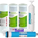 APEC FILTER-MAX-ESPH 75 GPD Complete Replacement Filter Set for ESSENCE Series Alkaline Reverse Osmosis Water Filter…
