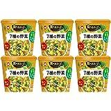 マルちゃん 食べるスープ 7種の野菜鶏だし中華 25g×6個