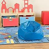 Sprogs SPG-610-078-SO Round Bean Bag Chair, Blue