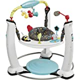 Evenflo Exersaucer Jump and Learn Stationary Jumper Jam Session (Multicolor)