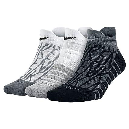 Nike W NK Perf Cush Low 3PR-GFX - Calcetines de Deporte, Mujer ...