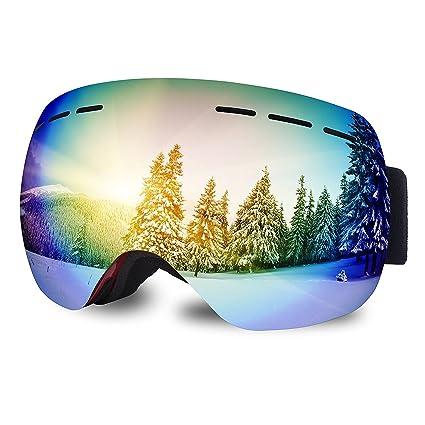 Pro unisex Frameless gafas de esquí / snowboard, anti-niebla ...