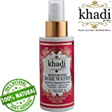 Khadi Global Rehydrating Rose Water Facial Mist Toner (100ml / 3.38 Fl.Oz)