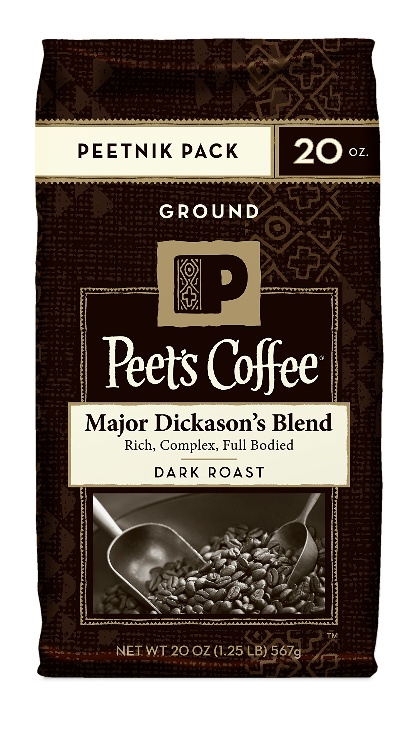 Peet's Coffee & Tea Ground Major Dickason's Blend 20 Ounce 4