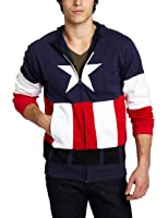 Captain America Men's Fleece Hoodie