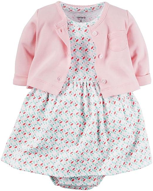 Carter - Vestido - para bebé niña rosa rosa