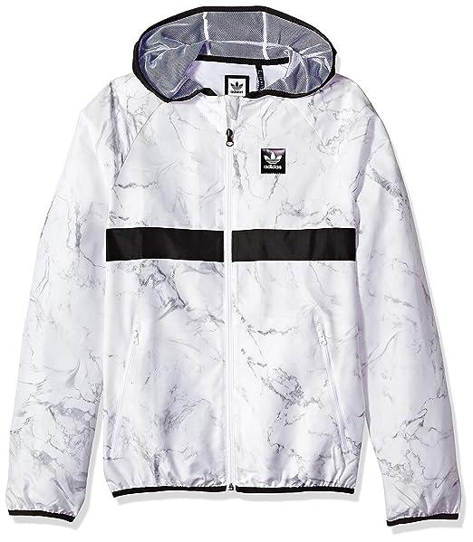 aa6b34d3d adidas Originals Mens Skateboarding Marble Blackbird Packable Jacket Jacket:  Amazon.ca: Clothing & Accessories