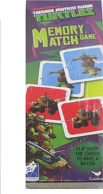 Amazon.com: Nickelodeon Tower Memory Match - TMNT Kids ...