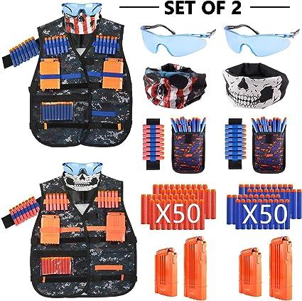 Outdoor Game Tactical Vest Kit For Nerf Guns N-Strike Elite Series Safety Set