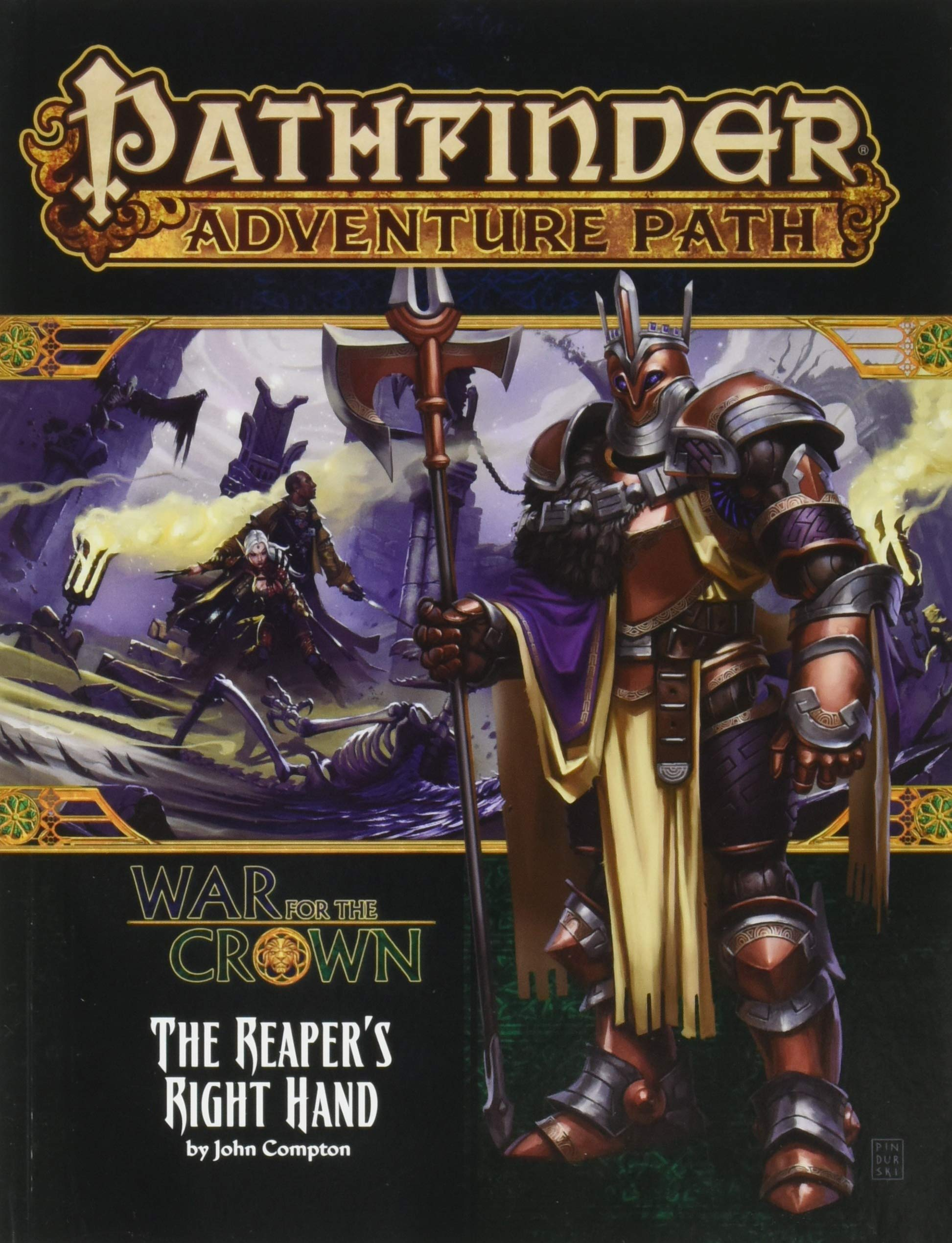 Pathfinder Adventure Path: The Reaper's Right Hand (War for
