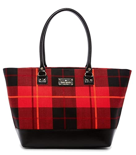 Amazon Com Kate Spade New York Wellesley Plaid Large Harmony Bag