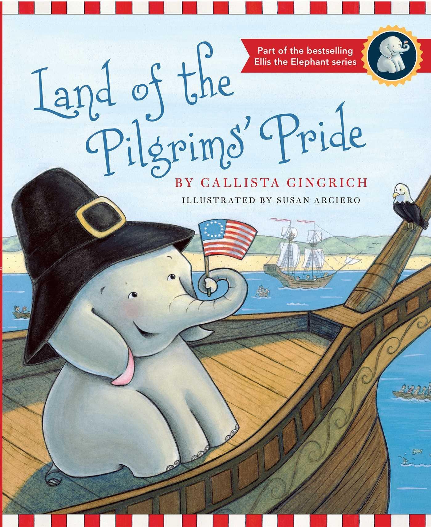 Land of the Pilgrims Pride Ellis the Elephant, Band 2: Amazon.de ...