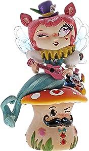 Enesco The World of Miss Mindy Mermaid Quartet Stone Resin Figurine, 6.61