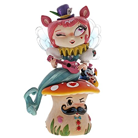 Enesco The The World of Miss Mindy Mermaid Quartet Stone Resin Figurine, 6.61 , Multicolor