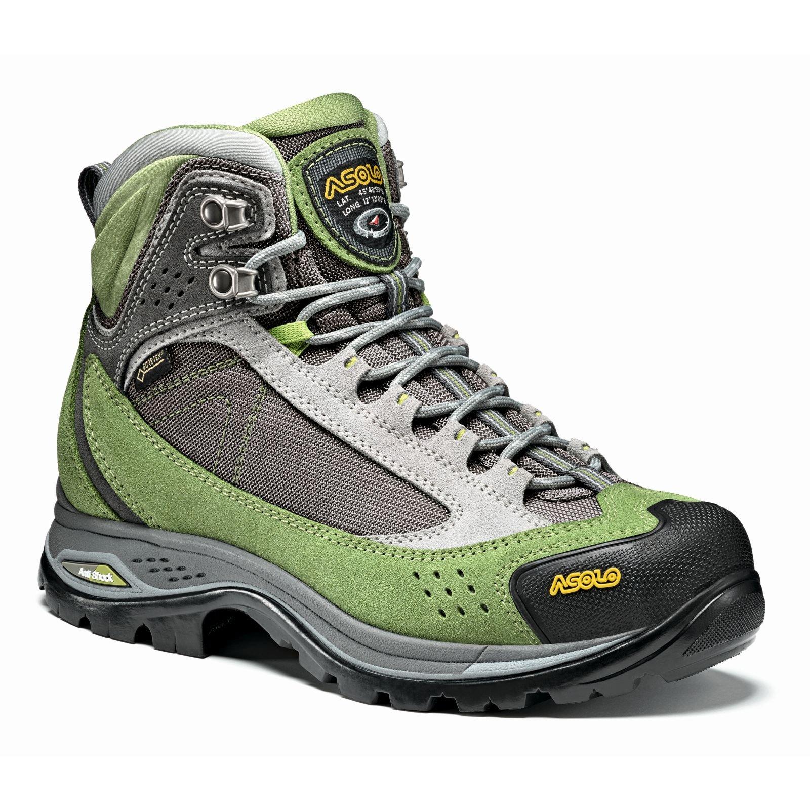 Asolo Women's Nilas Gv Hiking Boot English Ivy/Silver - 6.5