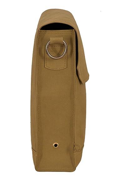 Indiana Jones Bolsa Mk VII Correa de cuero Bolsa de máscara de gas WWII Satchel Reproducción 9843