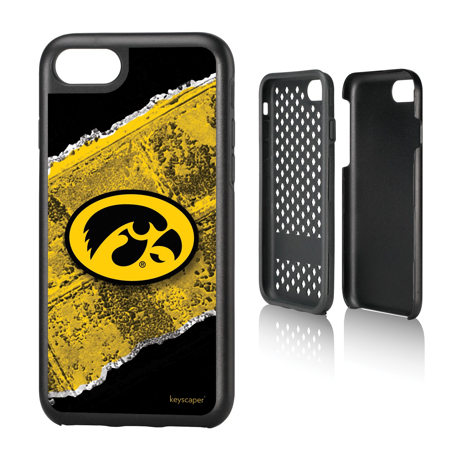 pretty nice 4ad72 bcb1e Iowa Hawkeyes iPhone 7 and 8 Rugged Case NCAA